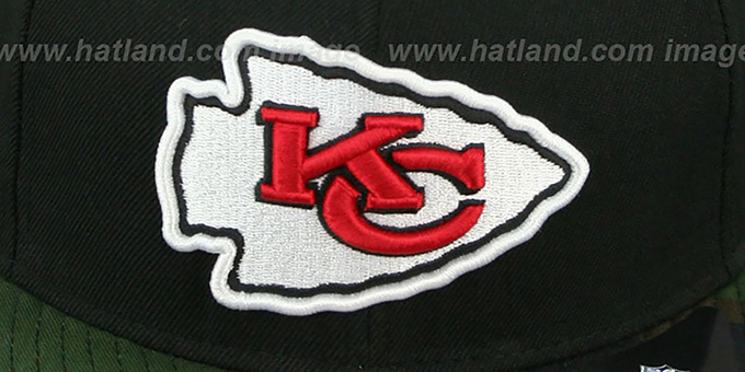 Chiefs 'NFL CAMO-BRIM SNAPBACK' Adjustable Hat by New Era