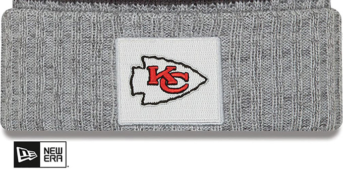 Chiefs 'SUPER BOWL LIV CHAMPIONS PARADE' Knit Beanie Hat by New Era