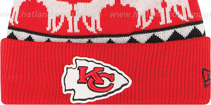 Chiefs 'THE-MOOSER' Knit Beanie Hat by New Era