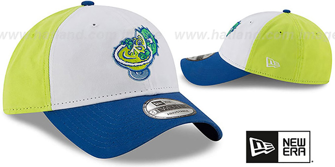 Chihuahuas 'COPA STRAPBACK' White-Yellow-Blue Hat by New Era