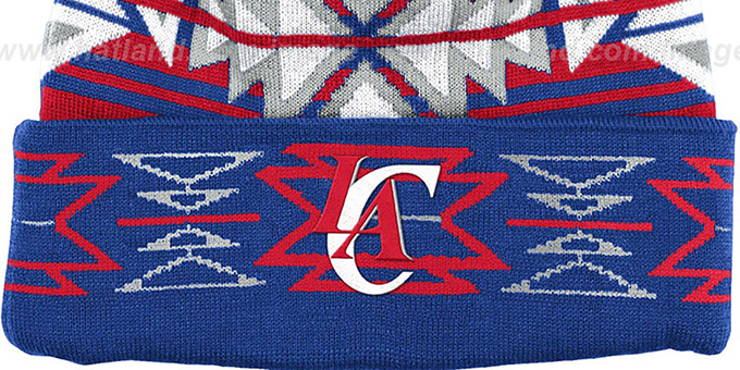 Clippers 'GEOTECH' Knit Beanie by Mitchell and Ness