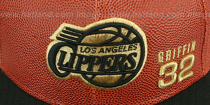 Clippers GRIFFIN 'BASKET-BALLIN' Fitted Hat by New Era