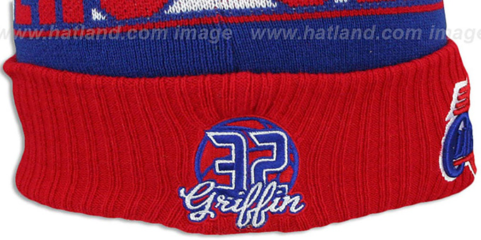 Clippers GRIFFIN 'REP-UR-TEAM' Knit Beanie Hat by New Era