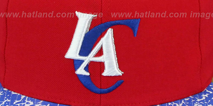 Clippers 'IN-THE-STANDS SNAPBACK' Hat by Mitchell and Ness
