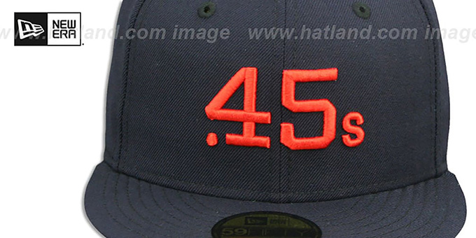 4b5afaedaa1 Houston Colt .45s 1962-64 COOPERSTOWN Fitted Hat by New Era