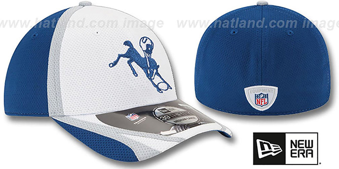 Colts '2014 NFL TRAINING FLEX' White Hat by New Era