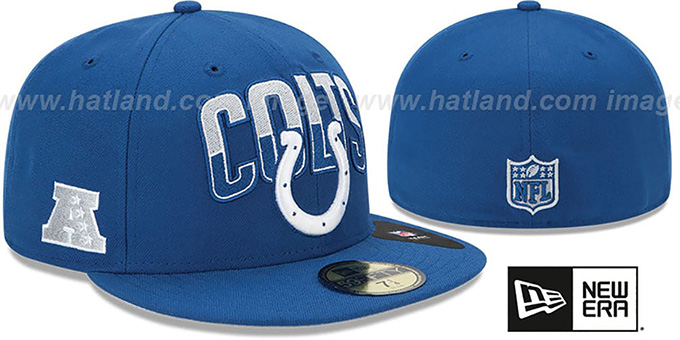 Colts 'NFL 2013 DRAFT' Blue 59FIFTY Fitted Hat by New Era