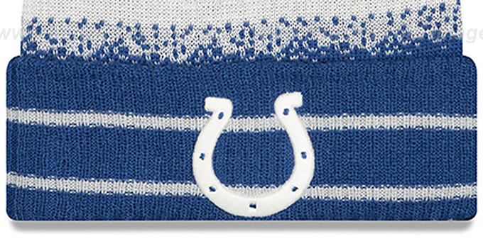 Colts 'SPEC-BLEND' Knit Beanie Hat by New Era