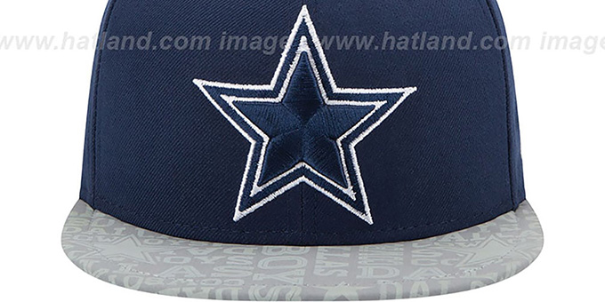 Cowboys '2014 NFL DRAFT' Navy Fitted Hat by New Era