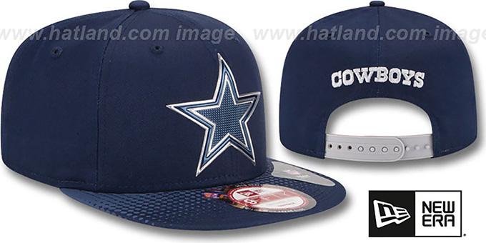 Dallas Cowboys 2015 NFL DRAFT SNAPBACK Navy Hat by New Era 65edcc6ed22