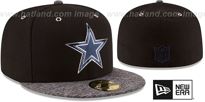 Cowboys '2016 MONOCHROME NFL DRAFT' Fitted Hat by New Era