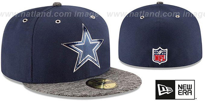 ab5a99fa19d Dallas Cowboys 2016 NFL DRAFT Fitted Hat by New Era