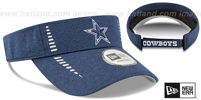 Cowboys 'HEATHERED SPEED-VISOR' Navy by New Era