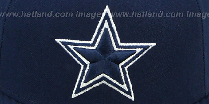 Cowboys 'NFL STADIUM STAR' Navy Fitted Hat by New Era