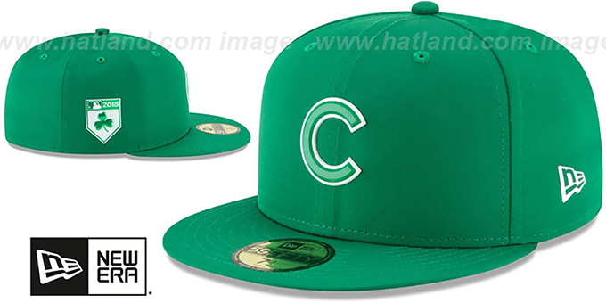 Cubs '2018 ST PATRICKS DAY' Hat by New Era