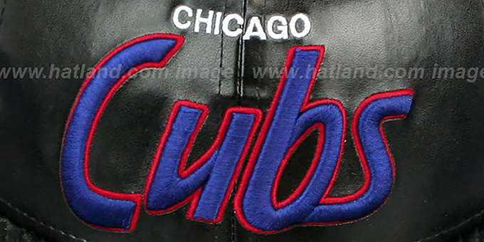 Cubs 'REDUX SNAPBACK' Black Hat by New Era