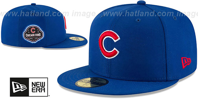 Cubs 'TEAM-SUPERB' Royal Fitted Hat by New Era