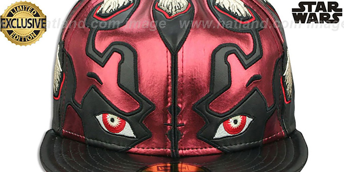 Darth Maul 'CHARACTER FACE' Fitted Hat by New Era
