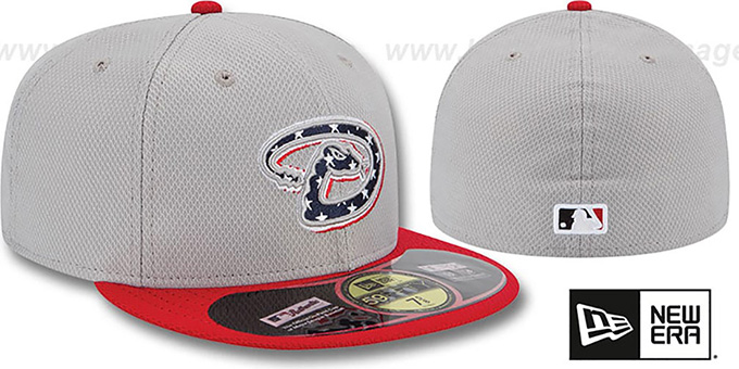 Diamondbacks 2013 'JULY 4TH STARS N STRIPES' Hat by New Era