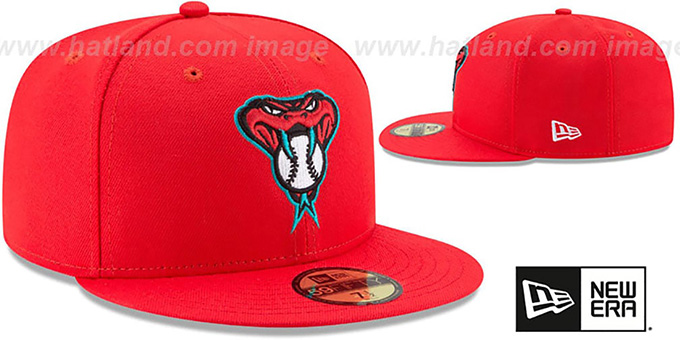 fc1787ea51fe1 ... Diamondbacks  2017 MLB LITTLE-LEAGUE  Red Fitted Hat by New Era ...