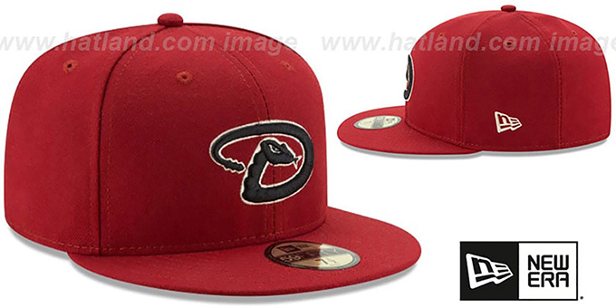 Diamondbacks '2017 ONFIELD ALTERNATE-4' Hat by New Era