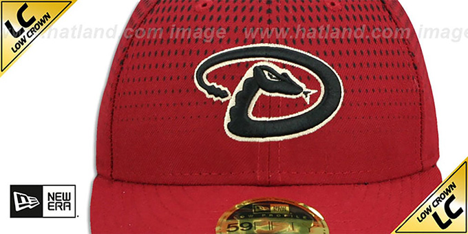 Diamondbacks 'LOW-CROWN ALTERNATE-4' Fitted Hat by New Era
