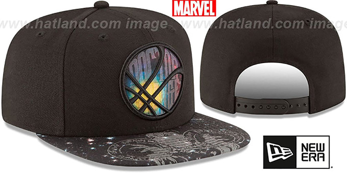 Doctor Strange 'PLANET SNAPBACK' Black Hat by New Era