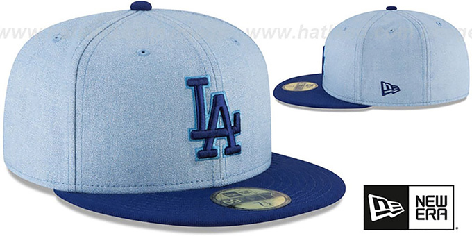 7ecc89b3a8e98c ... Dodgers '2018 FATHERS DAY' Sky-Royal Fitted Hat by New Era ...