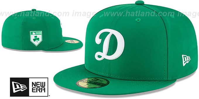 afe1a1368 Los Angeles Dodgers 2018 ST PATRICKS DAY Hat by New Era