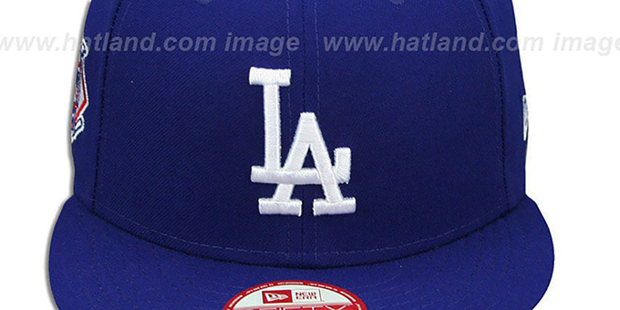 Dodgers 'LEAGUE REPLICA GAME SNAPBACK' Hat by New Era