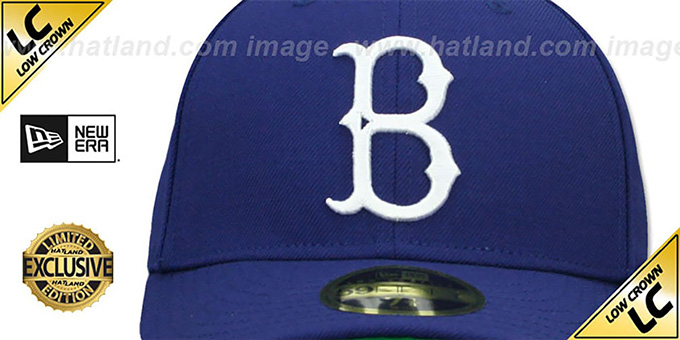 43bd463f0cd ... Dodgers  LOW-CROWN 1939-57 COOPERSTOWN  Fitted Hat by New Era ...