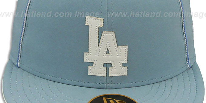 Dodgers 'SKY BLUE DaBu' Fitted Hat by New Era