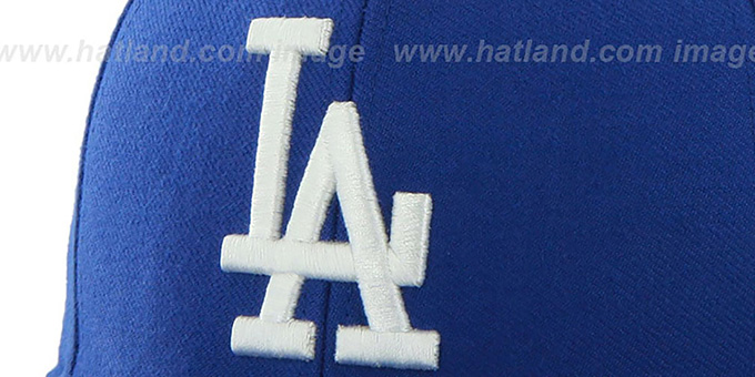 Dodgers 'SURE-SHOT SNAPBACK' Royal Hat by Twins 47 Brand