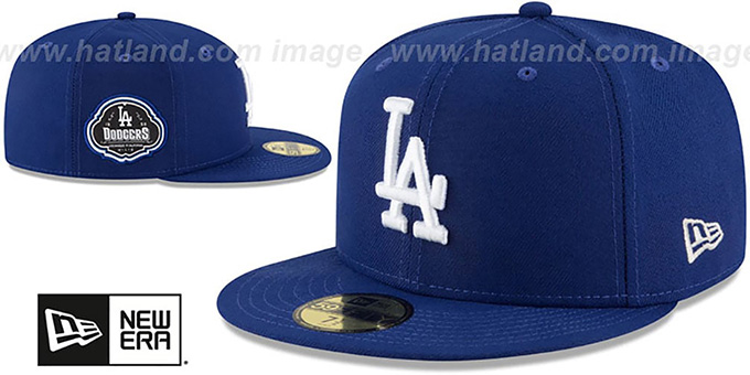 Dodgers 'TEAM-SUPERB' Royal Fitted Hat by New Era
