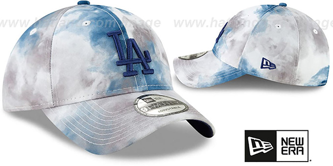 Dodgers 'TIE-DYE STRAPBACK' Hat by New Era