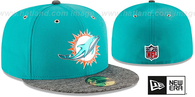 Dolphins '2016 NFL DRAFT' Fitted Hat by New Era