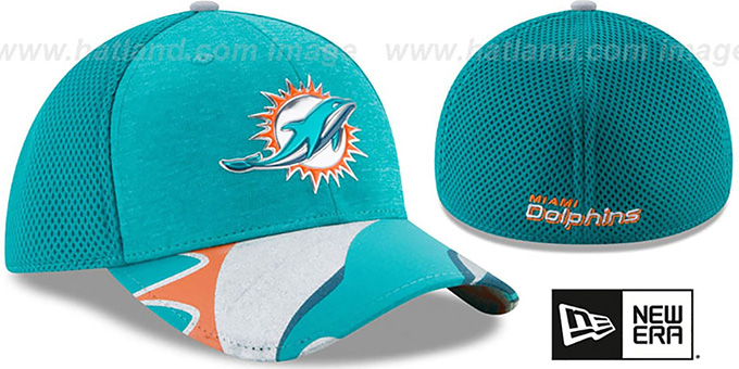 Dolphins '2017 NFL ONSTAGE FLEX' Hat by New Era