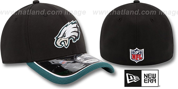 Eagles '2014 NFL STADIUM FLEX' Black Hat by New Era