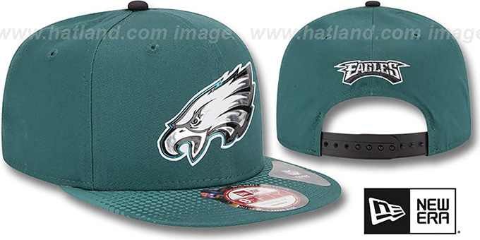 Eagles '2015 NFL DRAFT SNAPBACK' Green Hat by New Era