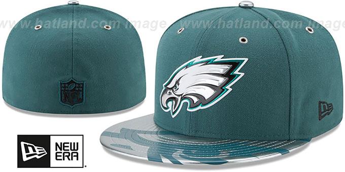 Philadelphia Eagles 2017 SPOTLIGHT Fitted Hat by New Era fd5780346