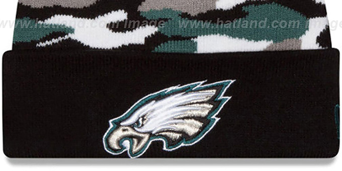 Eagles 'CAMO CAPTIVATE' Knit Beanie Hat by New Era