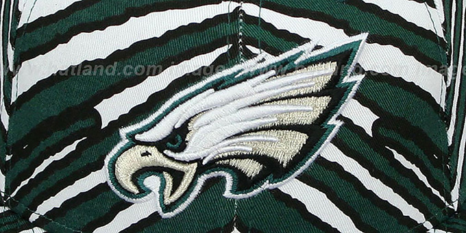 Eagles 'NFL ALL-OVER ZUBAZ SNAPBACK' Hat by New Era