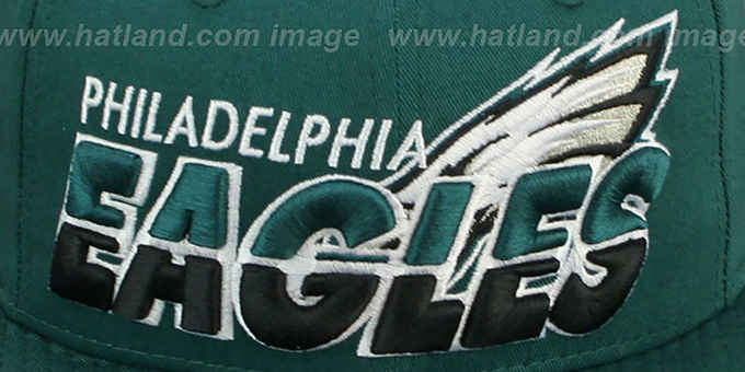 Eagles 'TEAM-HORIZON SNAPBACK' Green Hat by New Era