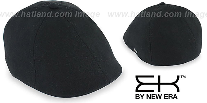 EK 'CORE DUCKBILL' Black Driver Hat by New Era