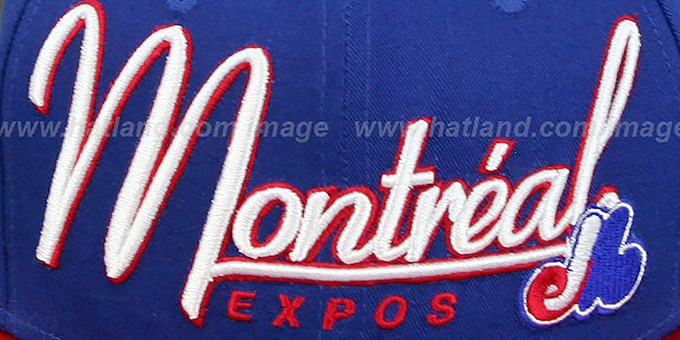 Expos '2T COOP CHARZ SNAPBACK' Royal-Red Hat by New Era