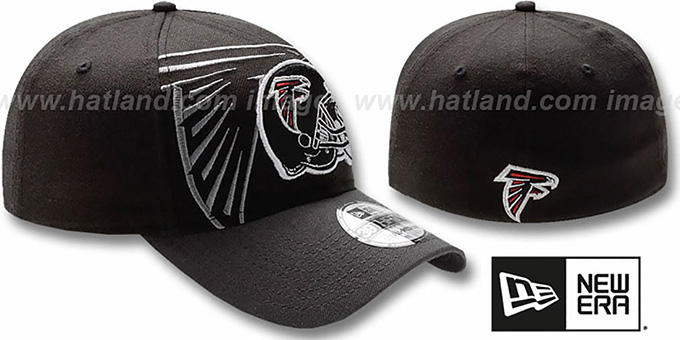 Falcons 'NFL BLACK-CLASSIC FLEX' Hat by New Era