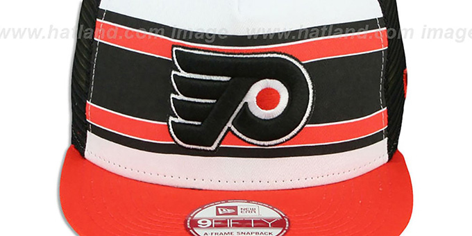 Flyers 'BAND-SLAP SNAPBACK' Hat by New Era