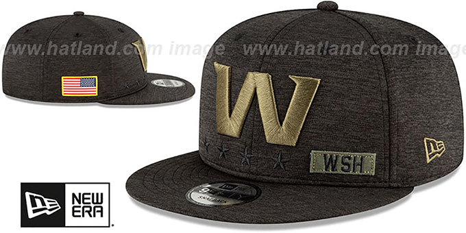 Football Team '2020 SALUTE-TO-SERVICE SNAPBACK' ST Black Hat by New Era