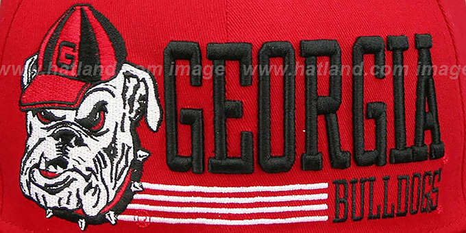 Georgia 'RETRO-SNAPBACK' Red Hat by New Era