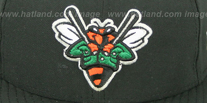 Greenjackets 'PERFORMANCE HOME' Black Fitted Hat by New Era